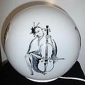 Для дома и интерьера ручной работы. Ярмарка Мастеров - ручная работа Светильник шар матовый. Handmade.