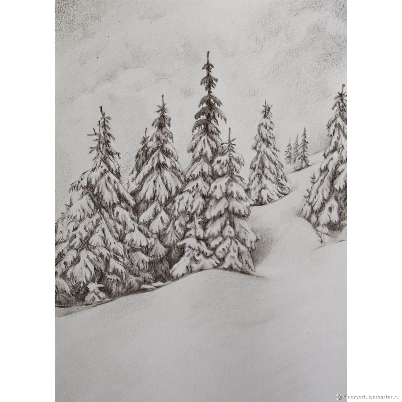 вертолетная площадка, картинка снежного леса срисовать мнение, что