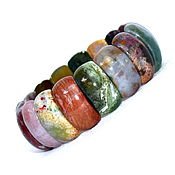 Украшения handmade. Livemaster - original item Bracelet made of natural green jade. Handmade.