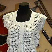 Одежда ручной работы. Ярмарка Мастеров - ручная работа Вязаная кофта. Handmade.