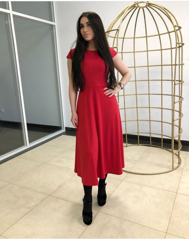 d18f57e1fa0 Платья ручной работы. Ярмарка Мастеров - ручная работа. Купить Платье  красное