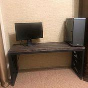 Для дома и интерьера handmade. Livemaster - original item Loft table, computer table. Handmade.