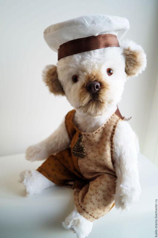 Мишки Тедди ручной работы. Ярмарка Мастеров - ручная работа. Купить собака игрушка тедди Щенок. Handmade. Белый, тедди