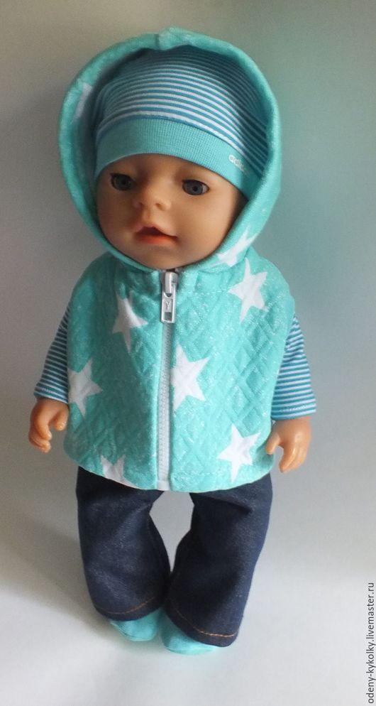 Одежда для кукол ручной работы. Ярмарка Мастеров - ручная работа. Купить Костюм для куклы Baby Born (Беби Бон). Handmade.