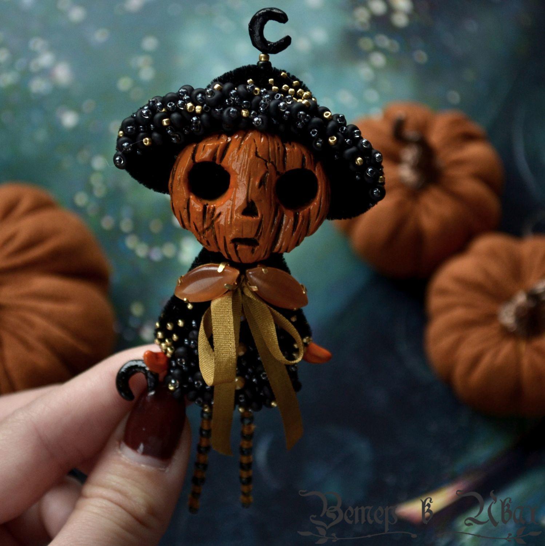 Mr. 'Pumpkin' Brooch, Brooches, Tambov,  Фото №1