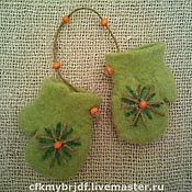 Подарки к праздникам ручной работы. Ярмарка Мастеров - ручная работа варежки сувенирные. Handmade.
