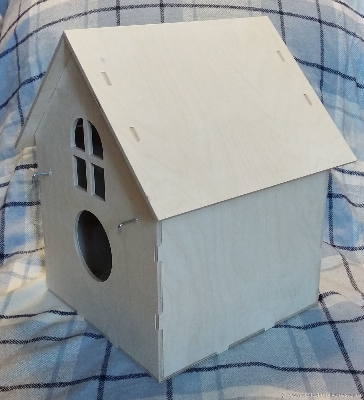 Гнездовой домик для волнистых попугаев, Для других животных, Хабаровск, Фото №1