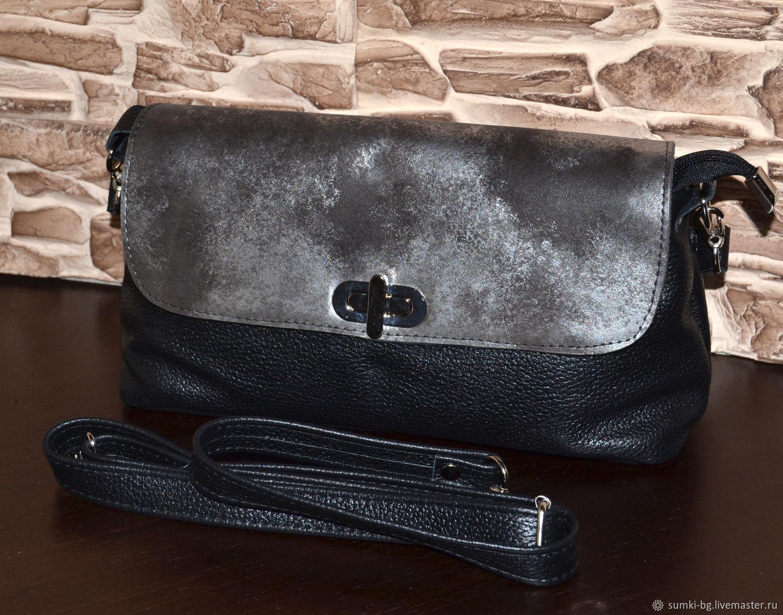 Model 537 crossbody Bag: Bag leather women Compact handbag, Crossbody bag, Bogorodsk,  Фото №1