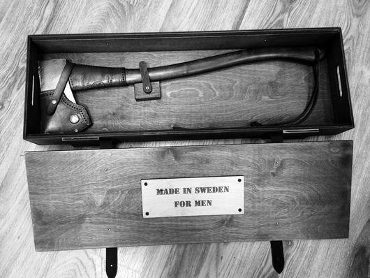 Подарки для мужчин, ручной работы. Ярмарка Мастеров - ручная работа. Купить Топор Hults Bruk. KB.. Handmade. Комбинированный, топор