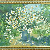 Pictures handmade. Livemaster - original item Oil painting flowers 50/70