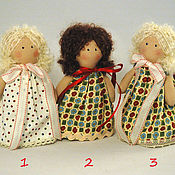 """Куклы и игрушки ручной работы. Ярмарка Мастеров - ручная работа Текстильные куколки """"Разноцветные крошечки"""". Handmade."""
