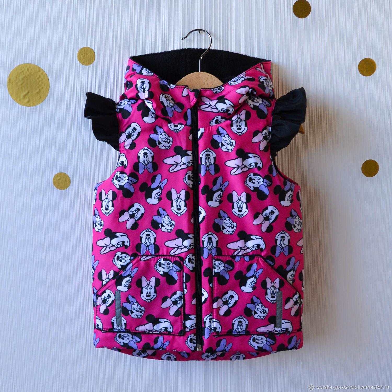 Одежда для девочек, ручной работы. Ярмарка Мастеров - ручная работа. Купить Жилетка для девочки. Handmade. Жилет, жилет для мальчика