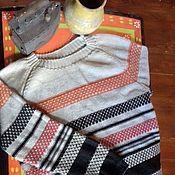 Одежда handmade. Livemaster - original item Men`s cardigan Voyage. Handmade.