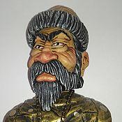 """Сувениры и подарки handmade. Livemaster - original item """"Царь"""" - декоративная пробка для бутылки, на подставке.. Handmade."""