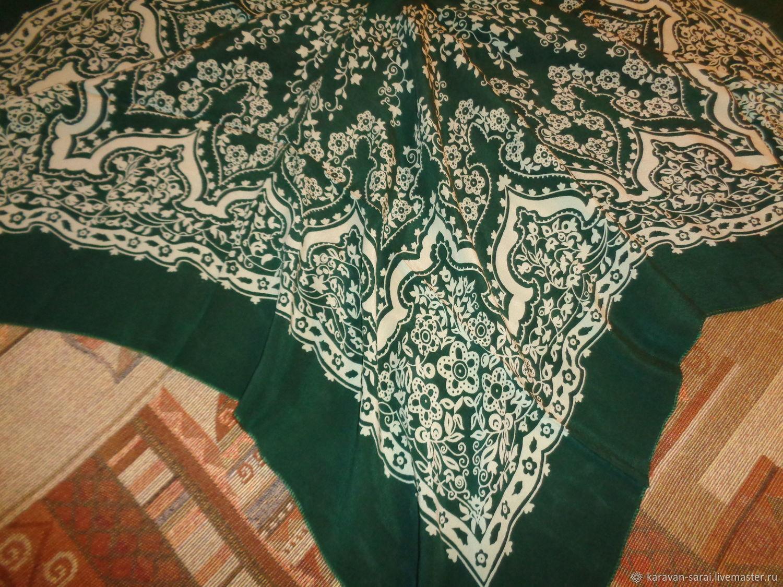 Винтаж: Платок павловопосадский, винтажный, шелковый, Винтажная одежда и аксессуары, Нальчик, Фото №1