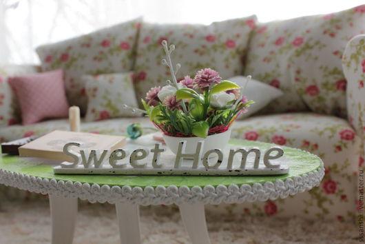 """Кукольный дом ручной работы. Ярмарка Мастеров - ручная работа. Купить Интерьер для bjd """"Sweet home"""". Handmade. Бжд"""