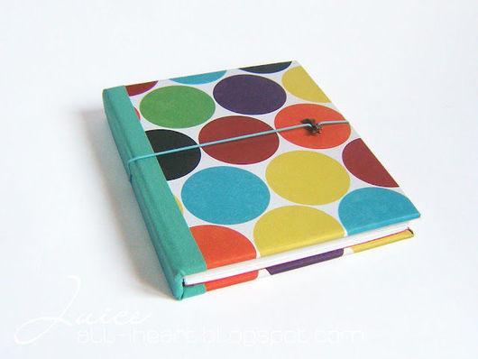 """Блокноты ручной работы. Ярмарка Мастеров - ручная работа. Купить Блокнот  """"Bubbles"""". Handmade. Блокнот, авторский блокнот, дизайнерская бумага"""