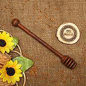 Для дома и интерьера handmade. Livemaster - original item Grisl wooden Spoon for honey Birch #D6. Handmade.