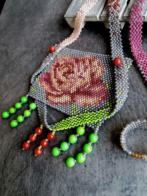 Necklace :Village rose, Necklace, Sevastopol,  Фото №1