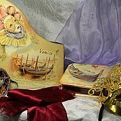 """Канцелярские товары ручной работы. Ярмарка Мастеров - ручная работа Набор """"Венеция"""". Handmade."""