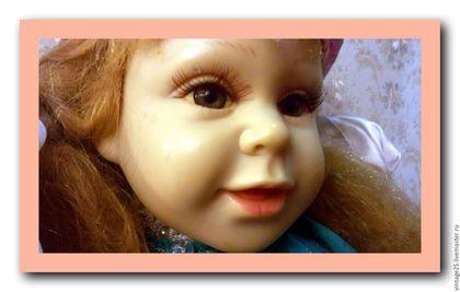 Винтажные куклы и игрушки. Ярмарка Мастеров - ручная работа. Купить Редчайшая старинная кукла 50 см. Handmade. Комбинированный
