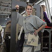 """Одежда ручной работы. Ярмарка Мастеров - ручная работа Сарафан-транформер """"Удачливая ворона"""". Handmade."""