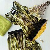 Одежда ручной работы. Ярмарка Мастеров - ручная работа Комплект Страсбург юбка в пол и майка.. Handmade.