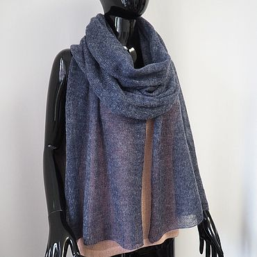 Accessories handmade. Livemaster - original item Scarf from kid-mohair. Handmade.