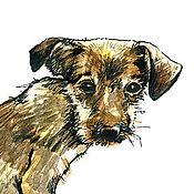 Картины и панно handmade. Livemaster - original item graphics animals. Handmade.