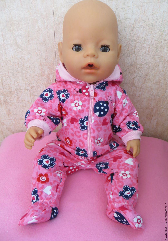 Новогодний костюм для куклы беби бон своими руками