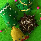 Подарки к праздникам ручной работы. Ярмарка Мастеров - ручная работа Новогодний звон. Handmade.