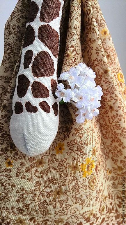 """Игрушки животные, ручной работы. Ярмарка Мастеров - ручная работа. Купить Жираф """"Polina"""". Handmade. Коричневый, Праздник, жираф"""