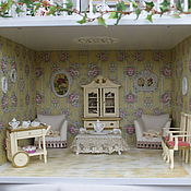 Куклы и игрушки ручной работы. Ярмарка Мастеров - ручная работа Французский особняк. Handmade.