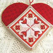 Для дома и интерьера handmade. Livemaster - original item Store things: Heart organizer