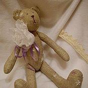 Куклы и игрушки ручной работы. Ярмарка Мастеров - ручная работа Тильда медвежонок `Прованс`. Handmade.