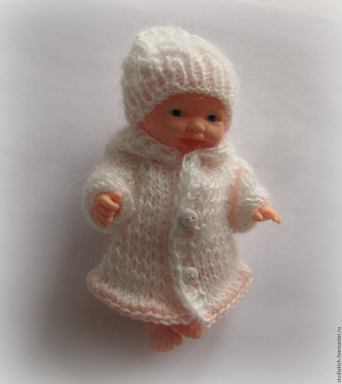Одежда для пупсиков пупсов маленьких кукол - вязаная одежда.Купить одежду для пупсов. Ручная работа. Ярмарка мастеров .Креативная студия ` Кич `