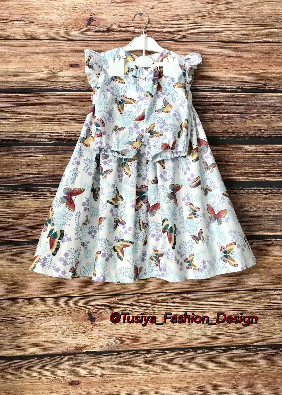 Детское платье с шортиками