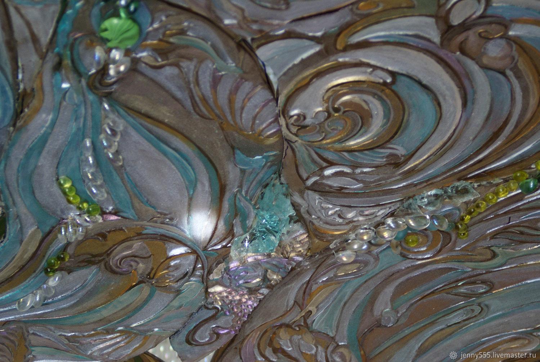 Каменный цветок-пескоструйный витраж в душе, Витражи, Москва, Фото №1