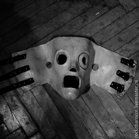 Карнавальные костюмы ручной работы. Ярмарка Мастеров - ручная работа. Купить маска Кори Тейлора из группы Slipknot. Handmade. Серый