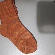 Носки ручной работы. Ярмарка Мастеров - ручная работа Носки: машинное вязание. Handmade.