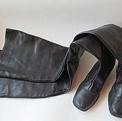 Винтаж ручной работы. Ярмарка Мастеров - ручная работа Сапоги женские  ботфорты очень высокие, Австрия. Handmade.