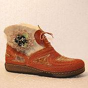 Обувь ручной работы. Ярмарка Мастеров - ручная работа весна. Handmade.