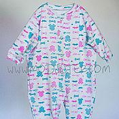 Одежда детская handmade. Livemaster - original item Slip for a newborn №2. Handmade.