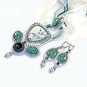 Украшения handmade. Livemaster - original item A set of turquoise