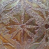 Дизайн и реклама handmade. Livemaster - original item Textured plaster with stone effect and ornament, decor, painting walls. Handmade.