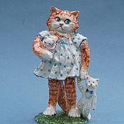 Для дома и интерьера handmade. Livemaster - original item Porcelain figurine
