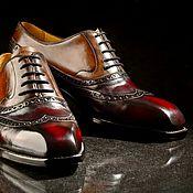 """Обувь ручной работы. Ярмарка Мастеров - ручная работа Туфли мужские """"Tabaco"""" ( работа на заказ). Handmade."""