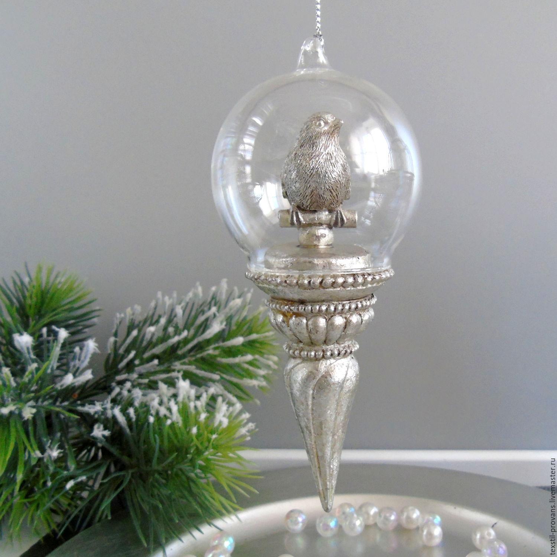 Стеклянный шары для декора