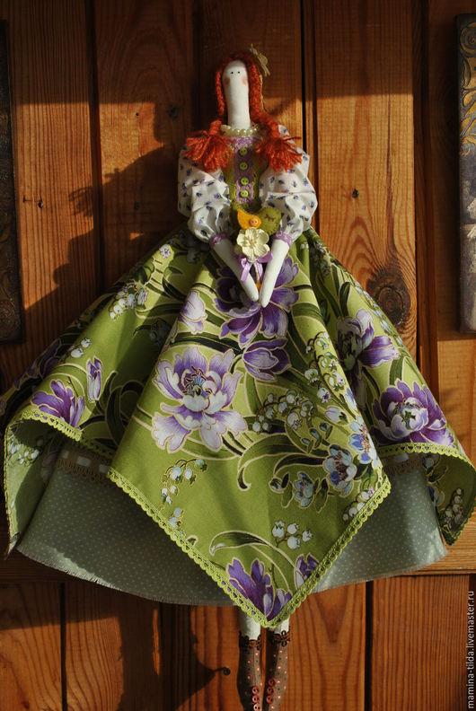 Куклы Тильды ручной работы. Ярмарка Мастеров - ручная работа. Купить В ожидании весны.Кукла в стиле Тильда. Handmade.