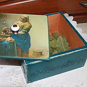 """Для дома и интерьера ручной работы. Ярмарка Мастеров - ручная работа Кухонный короб """"Хозяюшка"""". Handmade."""